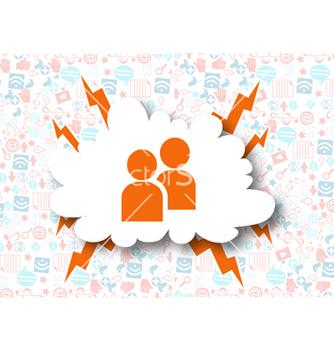 Free social media concept vector - Kostenloses vector #243391