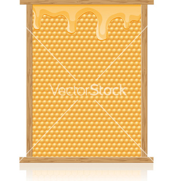 Free honey 02 vector - vector gratuit #243491