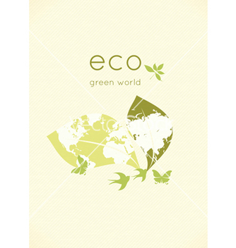 Free eco friendly design vector - vector gratuit #243541
