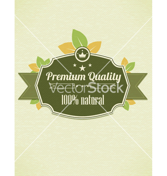 Free eco friendly label vector - vector gratuit #243591