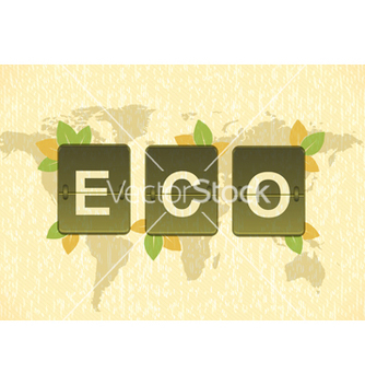 Free eco friendly design vector - Kostenloses vector #243691