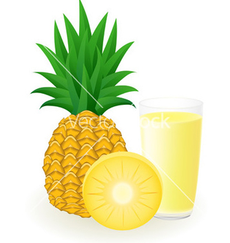 Free pineapple juice vector - Free vector #243741