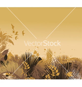 Free vintage floral background vector - Kostenloses vector #243881