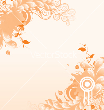 Free abstract floral background vector - Free vector #243981