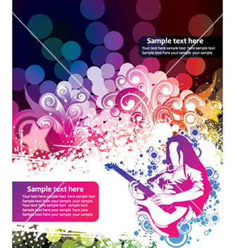 Free concert poster vector - Free vector #244581