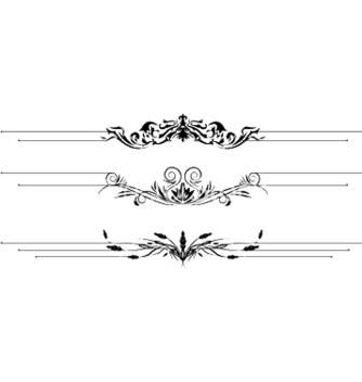 Free vintage floral vector - Free vector #244671