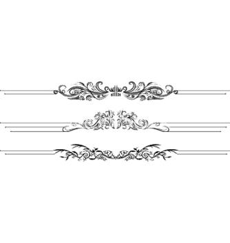 Free vintage floral vector - Kostenloses vector #244801