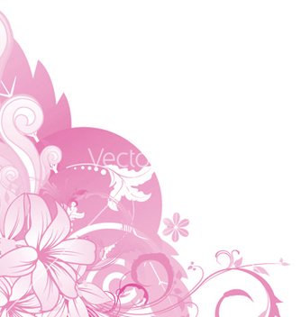 Free abstract floral vector - Free vector #245121