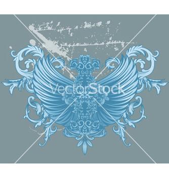 Free baroque floral vector - Free vector #245681