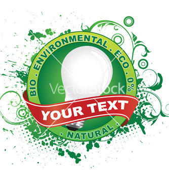 Free eco label vector - vector gratuit #245821