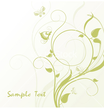 Free abstract floral vector - Free vector #245901