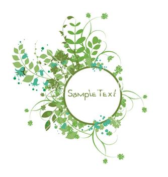 Free vintage floral frame vector - Free vector #246161