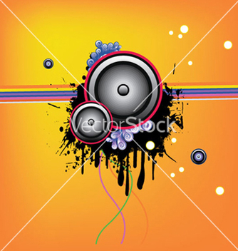 Free music wallpaper vector - Kostenloses vector #246561