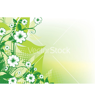 Free abstract floral background vector - Free vector #246631