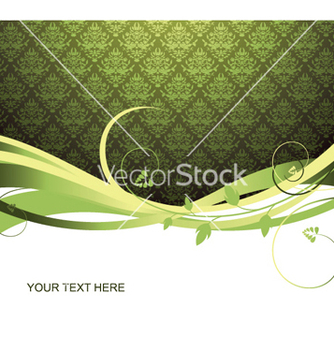 Free vintage floral background vector - Free vector #246831