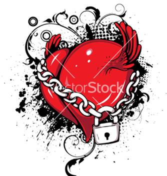 Free heart emblem vector - Free vector #246921