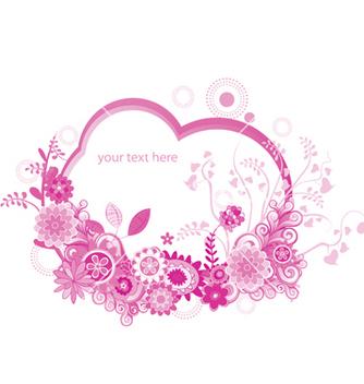 Free floral frame vector - Kostenloses vector #247361