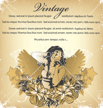 Free vintage background vector - Free vector #247461