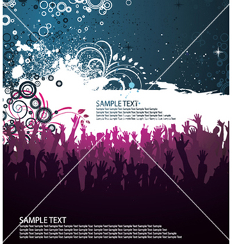 Free concert poster vector - Free vector #247671