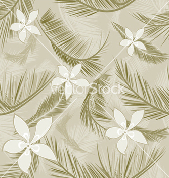 Free seamless floral pattern vector - Free vector #247821