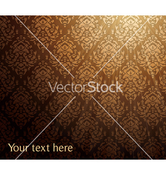Free baroque floral background vector - Free vector #248001