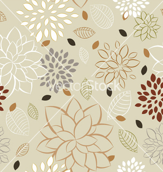 Free floral seamless pattern vector - Free vector #248031