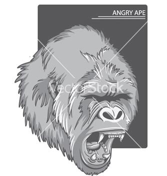 Free raging gorilla vector - vector #248181 gratis
