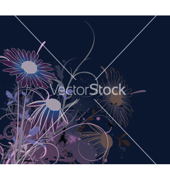 Free splash floral background vector - vector #248781 gratis