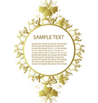 Free floral frame vector - Kostenloses vector #249341