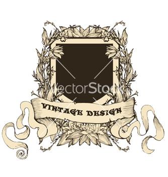 Free vintage emblem vector - Kostenloses vector #249681