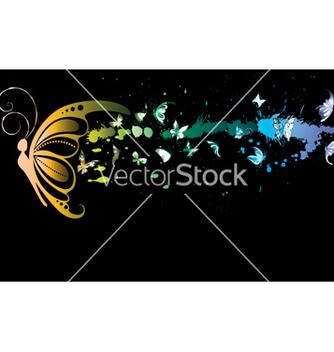 Free watercolor splash vector - Free vector #250041