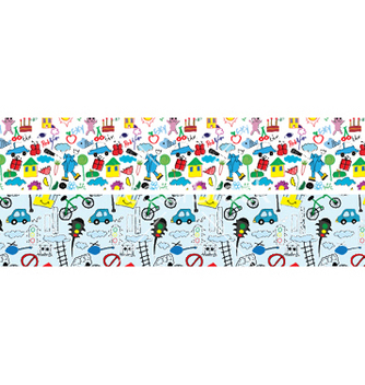 Free doodles web banner vector - Free vector #251191