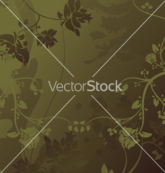 Free abstract floral background vector - Free vector #251491