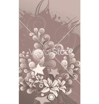 Free splash floral background vector - vector #251681 gratis