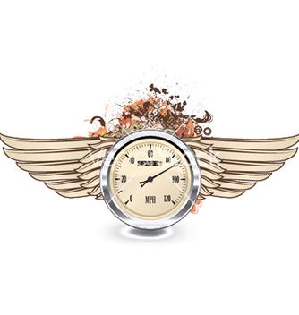 Free speedometer emblem vector - vector #251991 gratis