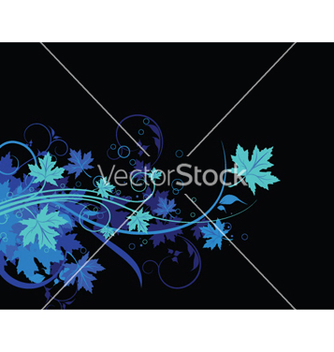 Free abstract floral background vector - Free vector #252261