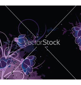 Free splash floral background vector - vector #252291 gratis