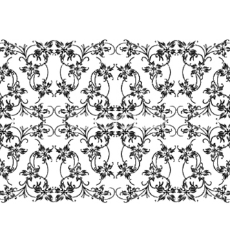 Free seamless floral pattern vector - Free vector #253231
