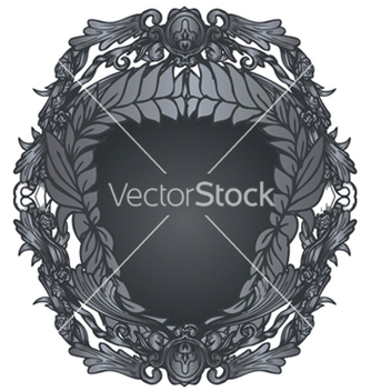Free shield with floral vector - Kostenloses vector #253381