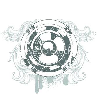 Free speaker emblem vector - Free vector #253391