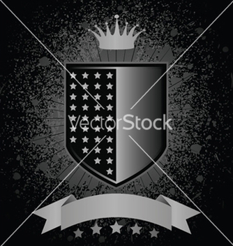Free shield with grunge vector - Kostenloses vector #253721