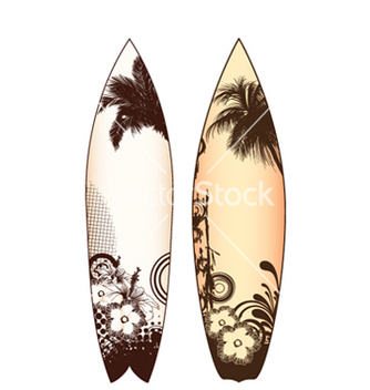 Free surfboards set vector - бесплатный vector #253921