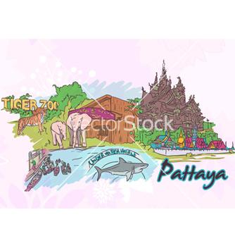 Free pattaya doodles vector - Free vector #254121