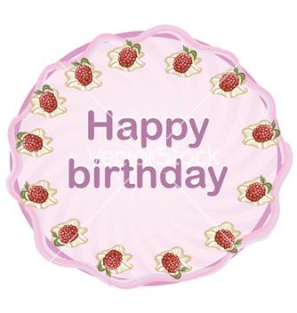 Free happy birthday vector - Kostenloses vector #254431