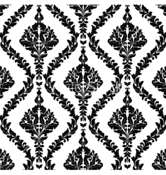 Free damask seamless pattern vector - Free vector #254551