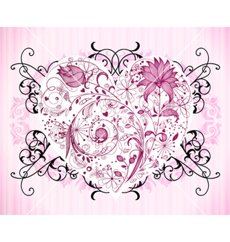 Free valentine background vector - Free vector #255011