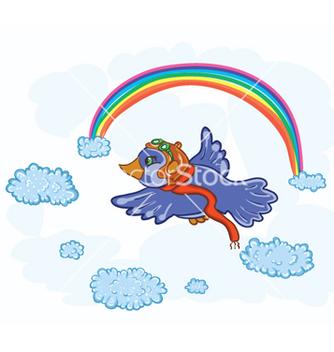 Free pilot bird vector - Free vector #255141