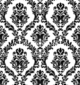 Free damask seamless pattern vector - Kostenloses vector #255171