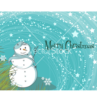 Free christmas greeting card vector - Kostenloses vector #255241