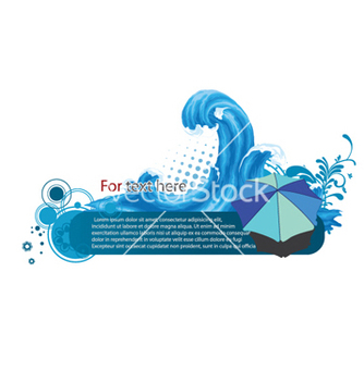 Free summer frame vector - Free vector #255341